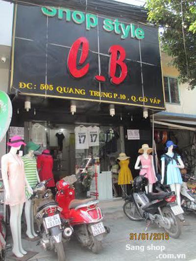 Sang Shop 505 Quang Trung, P10, Gò Vấp