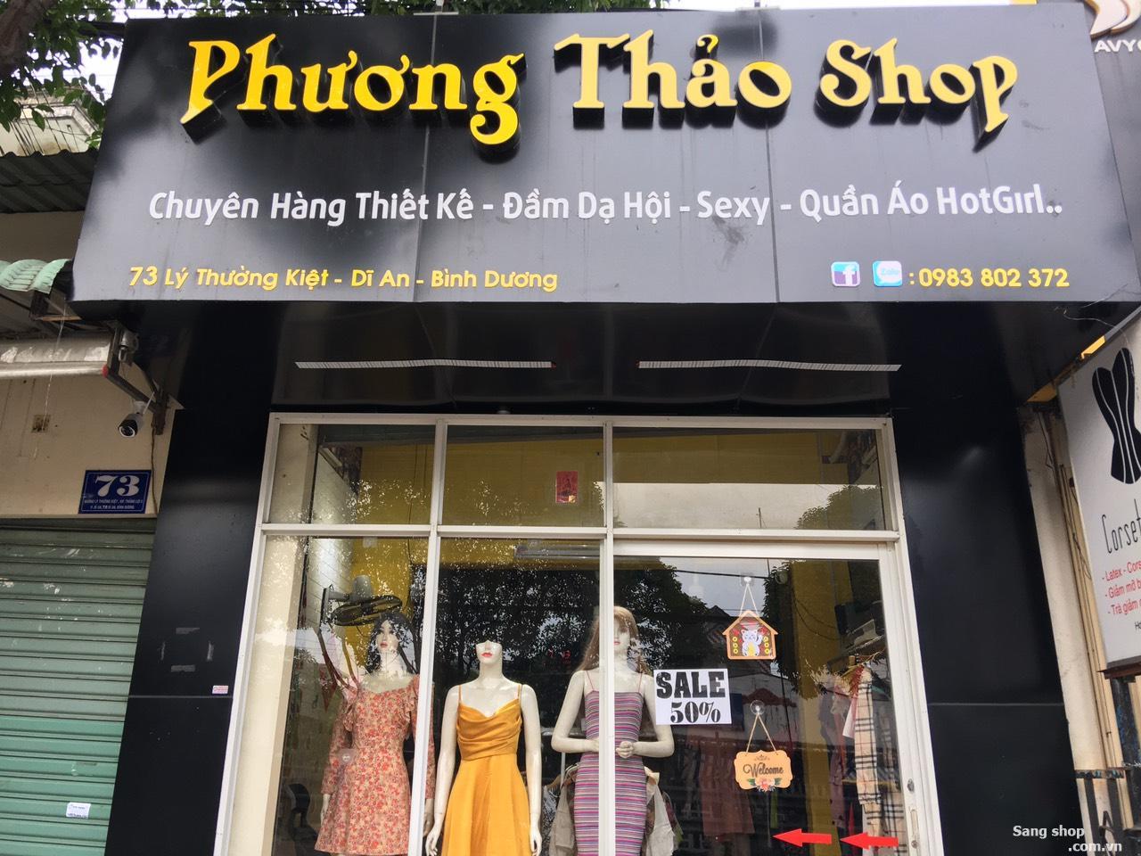 Sang shop 73 Lý Thường Kiệt. Dĩ An Bình Dương