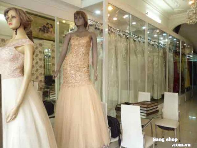 Sang shop áo cưới đường Hồ Văn Huê