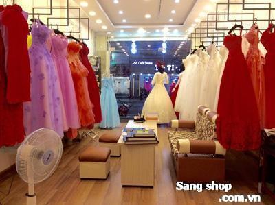 Sang shop áo cưới đường Hồ Vắn Huê