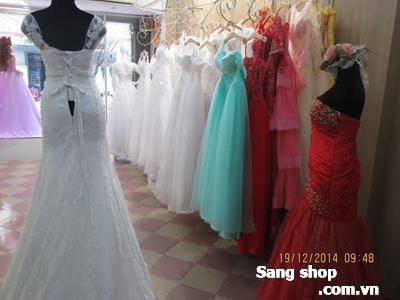 Sang shop áo cưới đường Hồ Văn Huê, quận Phú Nhuận