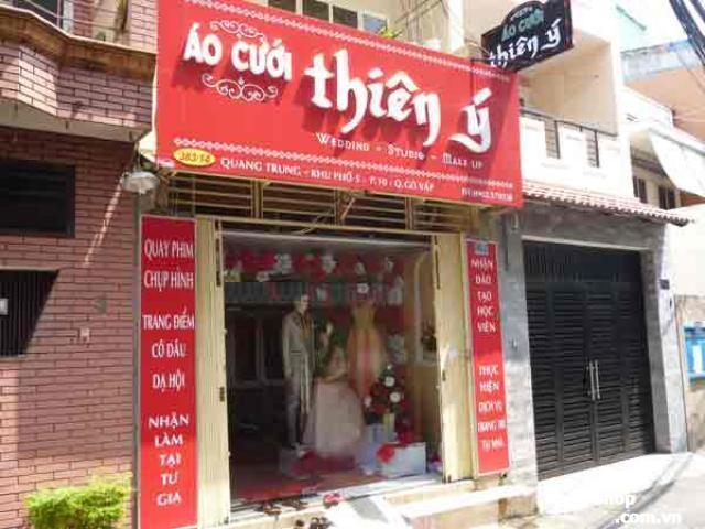 Sang shop áo cưới đường Quang Trung