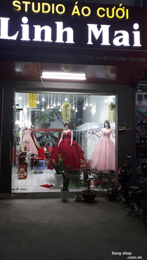 Sang shop áo cưới số 62 đường D1 KDC Visip