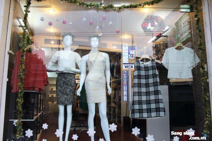 Sang shop quần áo tại Hoàng Văn Thụ