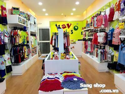Sang shop đang kinh doanh mặt hàng quần áo trẻ em