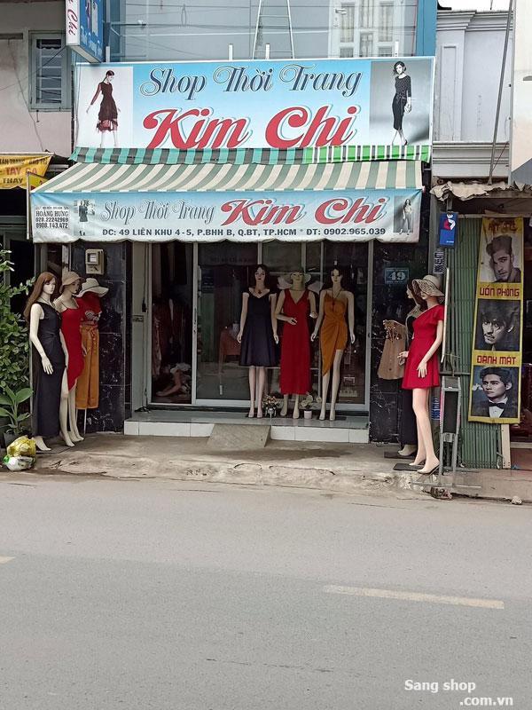 Sang shop đang kinh doanh tốt vị trí đẹp