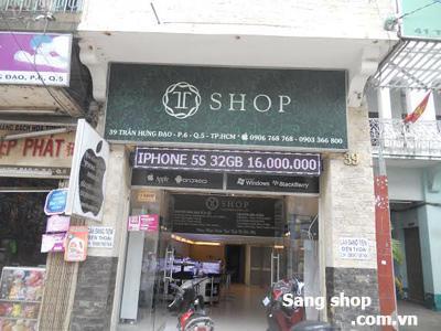 Sang shop điện thoại di động