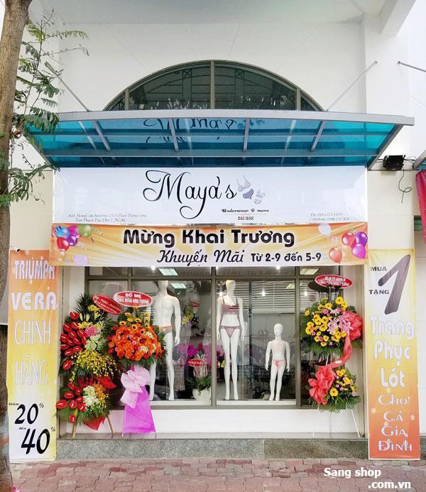 Sang shop đồ lót mới mở hai mặt tiền quận 7