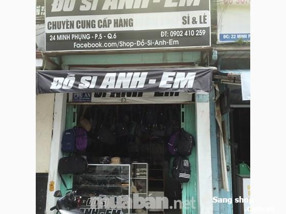 Sang Shop Đồ Si Anh & Em 24 Minh Phụng, Q,6
