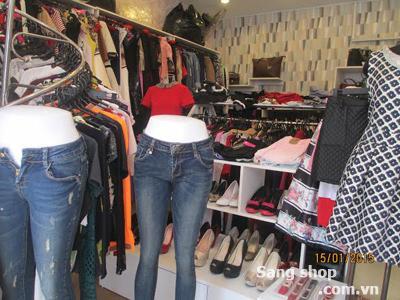 Sang shop đường Huỳnh Văn Bánh quận Phú Nhuận