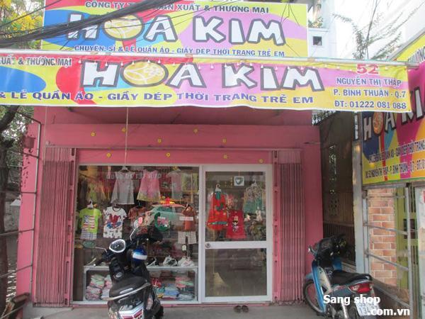 Sang Shop đường Nguyễn Thị Thập,