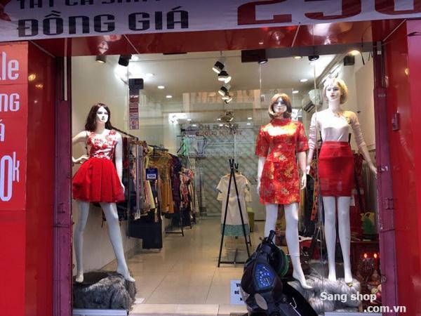 Sang shop gần quận 1 mặt tiền đường Phan Đình Phùng