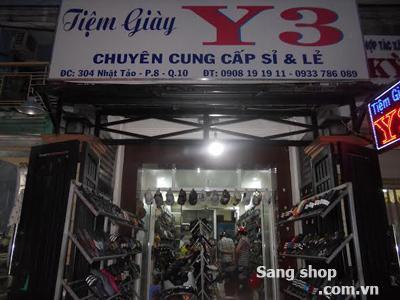 Sang shop giầy dép + toàn bộ hàng hóa