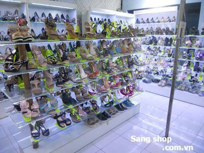 Sang shop Giầy Dép đường Tây Thạnh quận Tân Phú