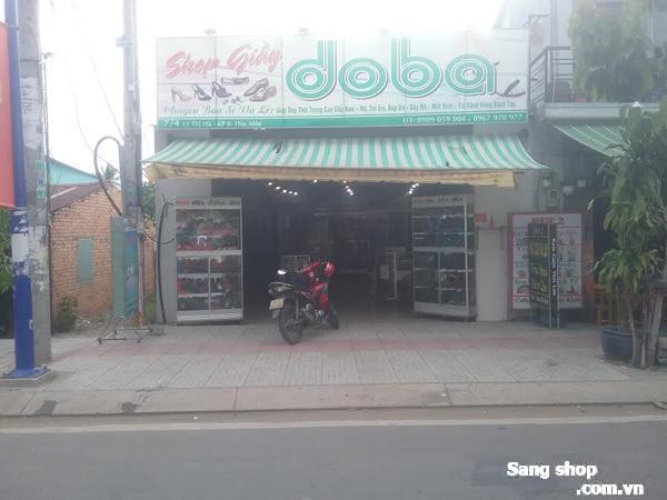 Sang shop giầy dép mặt tiền Lê Thị Hà, Hóc Môn