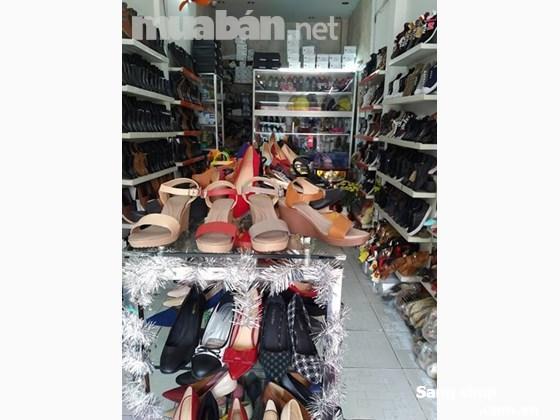Sang mặt bằng hoặc sang shop giày xuất khẩu mặt tiền Lê Văn Sỹ