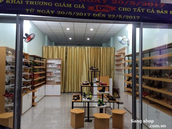 Sang shop giày dép nữ thời trang đường Hai Bà Trưng