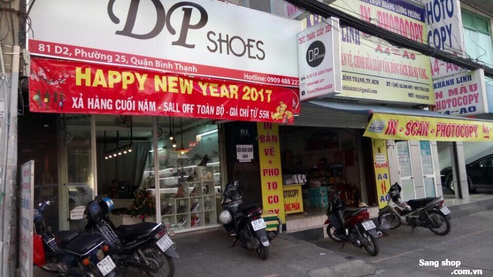 Sang shop giầy dép trung tâm quận Bình Thạnh