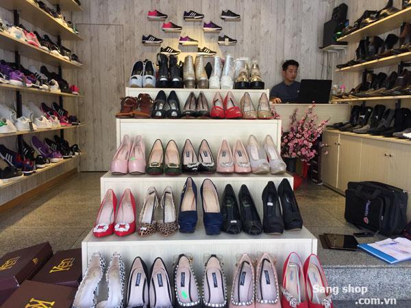 Sang shop giày mặt tiền Hồ Văn Huê