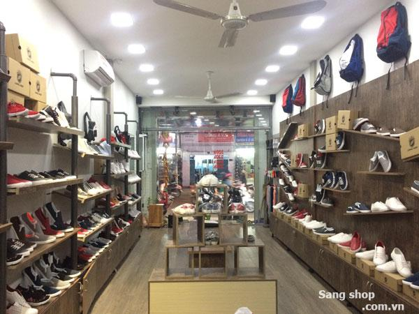 Sang shop giầy mặt tiền Lê Văn Sỹ