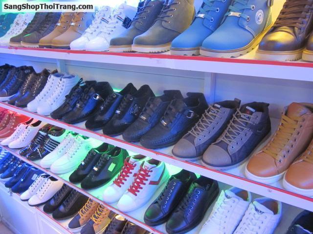 Sang shop giầy nam khu Bách Hóa Nghĩa Tân
