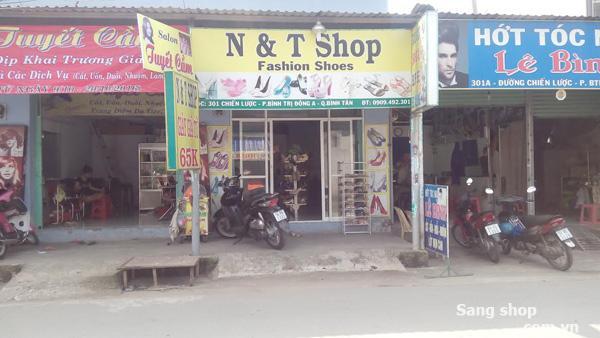 Sang shop giầy quận Bình Tân