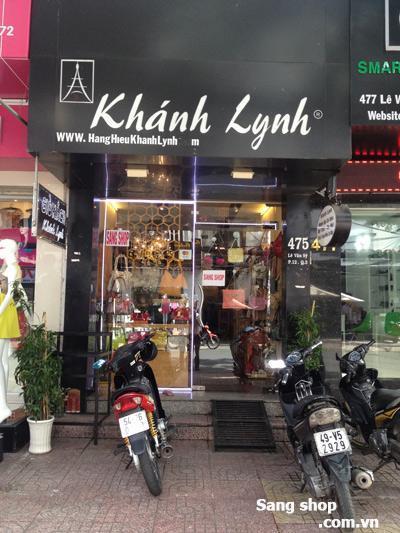 Sang shop giỏ xách thời trang MT Lê Văn Sỹ, Quận 3