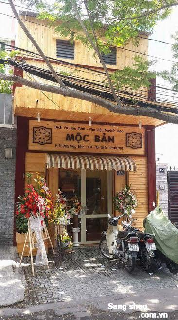 Sang gấp shop hoa quận Tân Bình