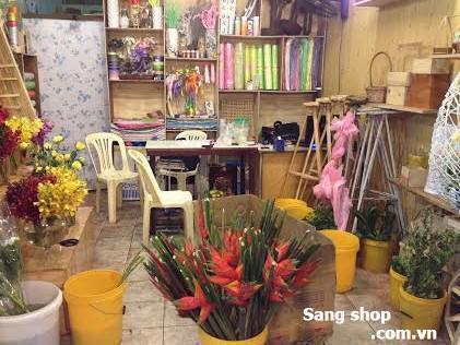 Sang shop hoa tươi đường Lạc Long Quân