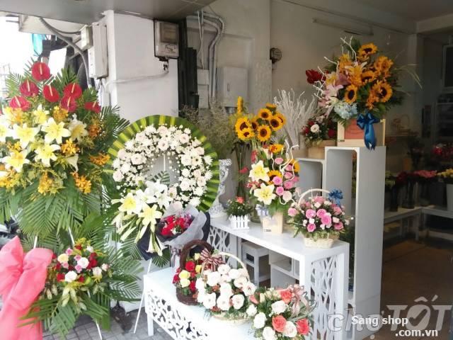 Sang shop hoa tươi đường Phan Đăng Lưu