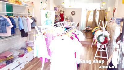 Sang Shop hoặc sang mặt bằng mặt tiền