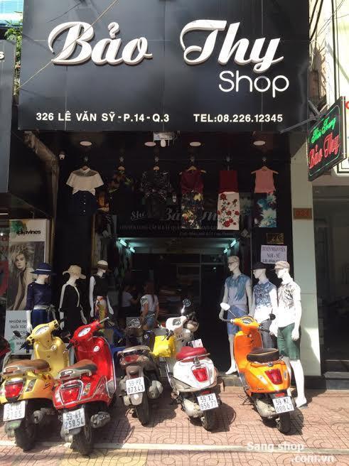 Sang Shop hoặc sang mặt bằng shop thời trang