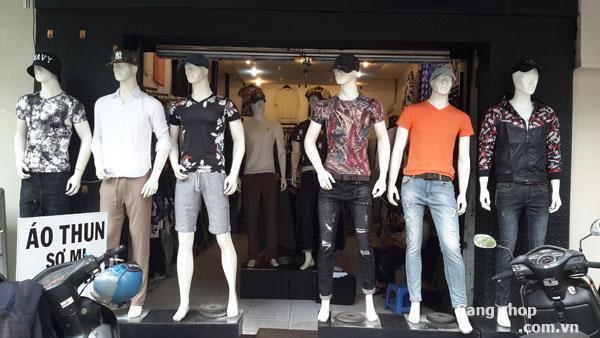 Sang shop hoặc sang mặt bằng shop thời trang nam