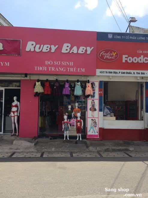 Sang Shop hoặc thanh lý đồ trẻ em