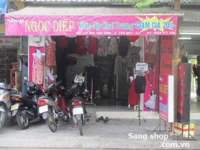 Sang shop khu trung tâm quận 7