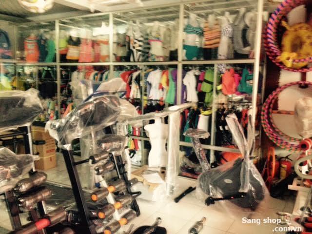 Sang shop kinh doanh dung cụ thể thao