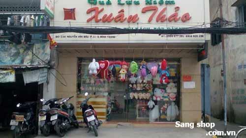 Sang shop kinh doanh Quà lưu niệm quận Bình Thạnh