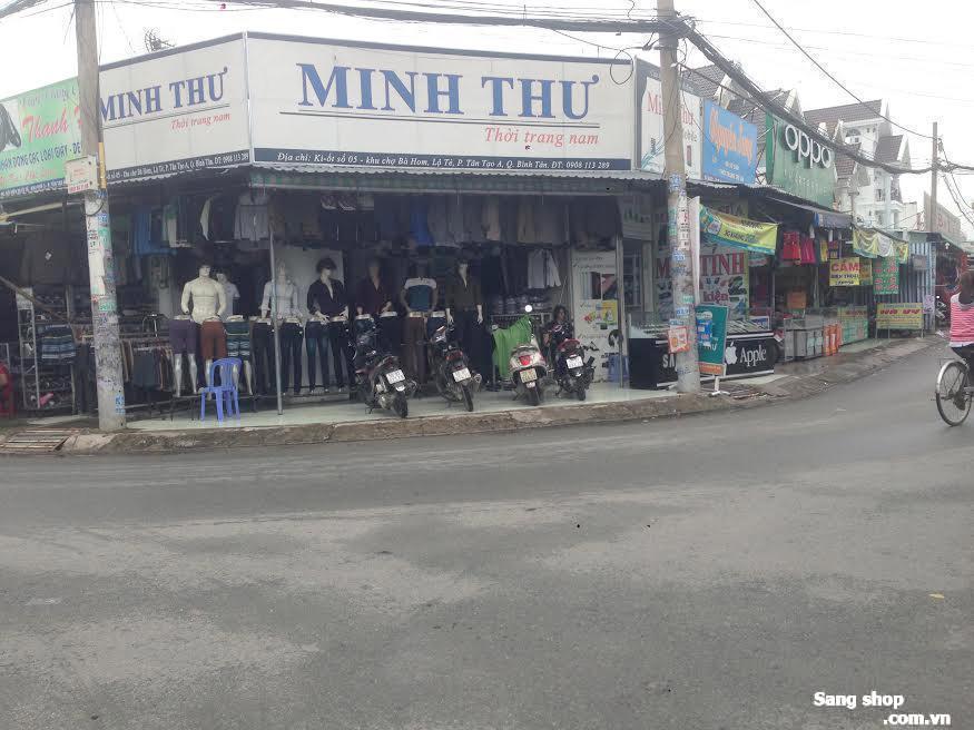 Sang shop mặt tiền chợ Bà Hom mới