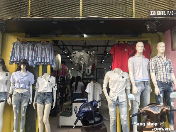 Sang shop mặt tiền đường Cách Mạng Tháng 8, quận 3