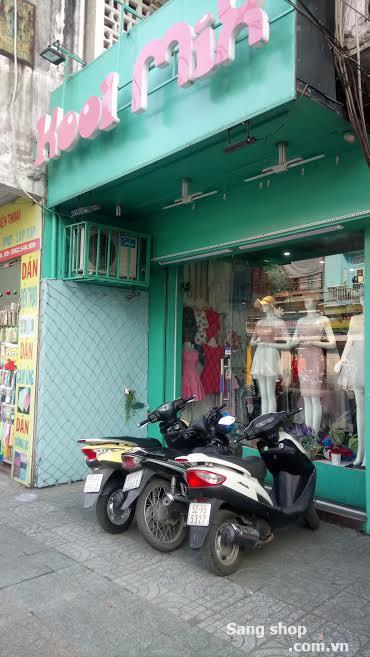 Sang shop mặt tiền đường CMT 8