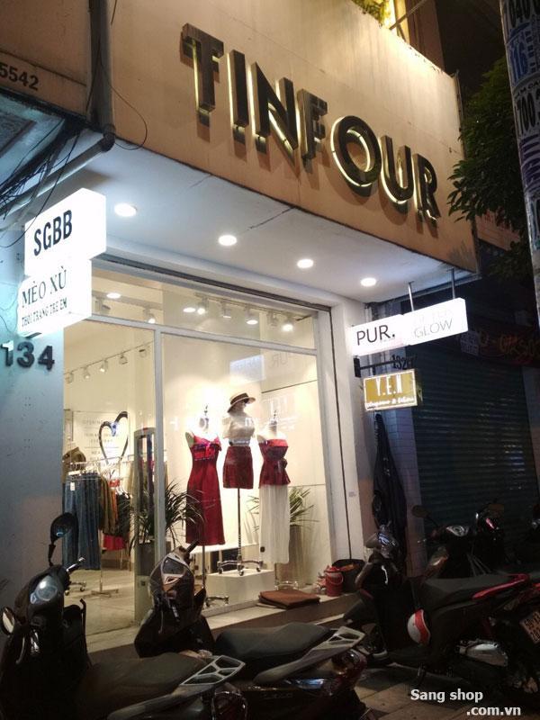 Sang shop mặt tiền đường Nguyễn Trãi, P. Bến Thành, quận 1