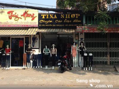 Sang Shop mặt tiền đường Nguyễn Văn Quá