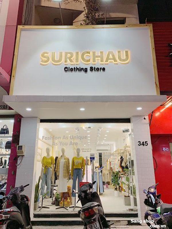 Sang shop mặt tiền Nguyễn Trãi Quận 5 70m2