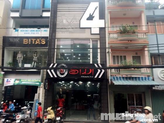Sang shop mặt tiền Trần Quang Diệu quận 3