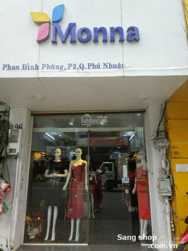 Sang shop MT Phan Đình Phùng , Phú Nhuận