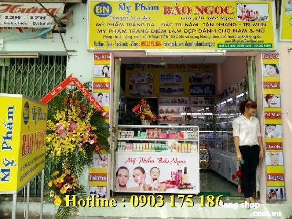 Sang shop mỹ phẩm chợ Khiết Tâm