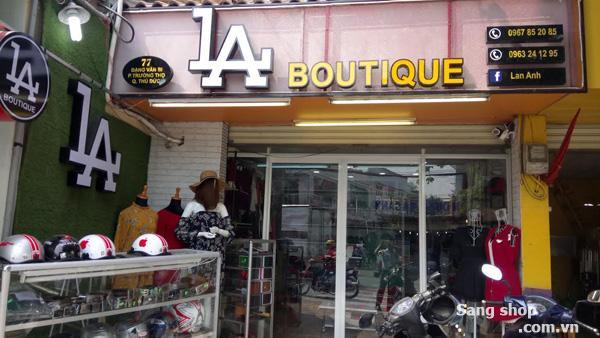 Sang Shop nằm ở mặt tiền Đặng Văn Bi