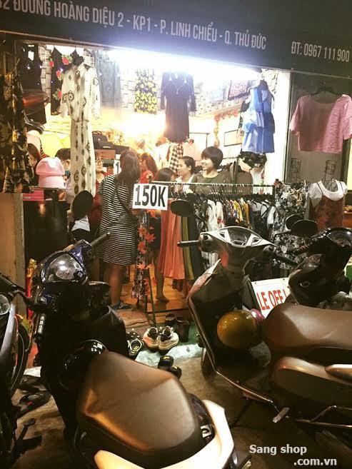 Sang Shop nằm ở mặt tiền đường Hoàng Diệu 2