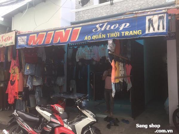Sang shop ngay chợ Căn Cứ đường Lê Thị Hồng