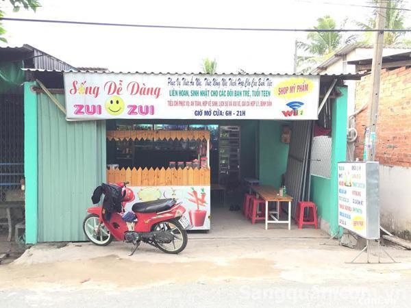 Sang shop phụ kiện mỹ phẩm kết hợp VPP và ăn vặt